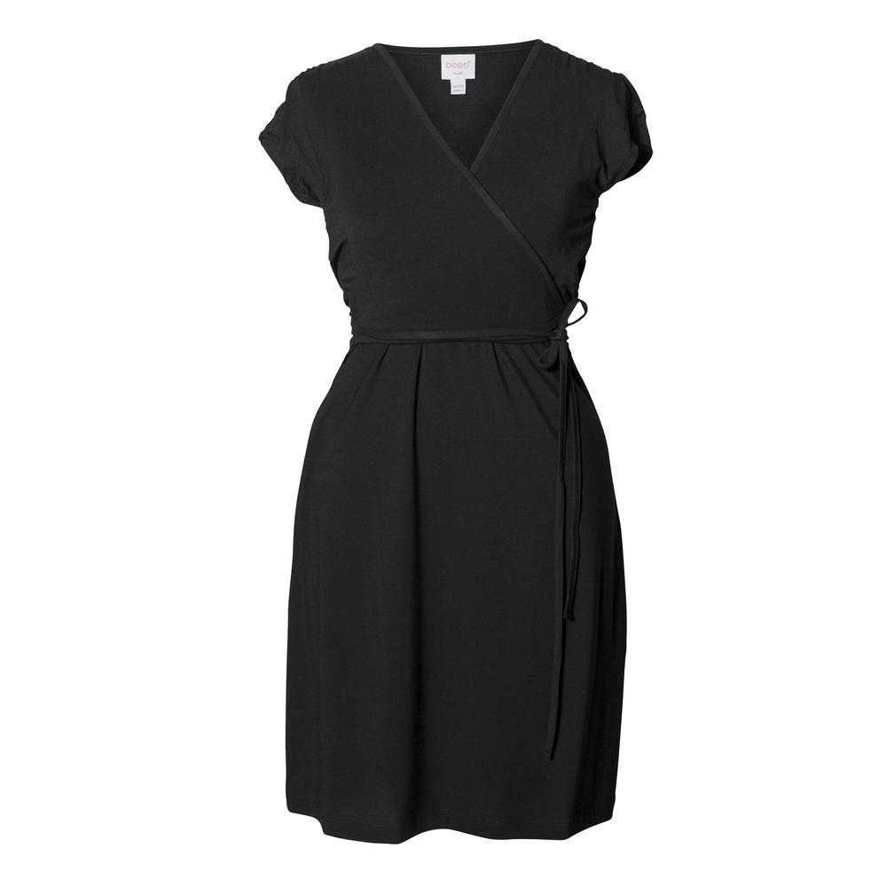 Boob Dress Wrap Black