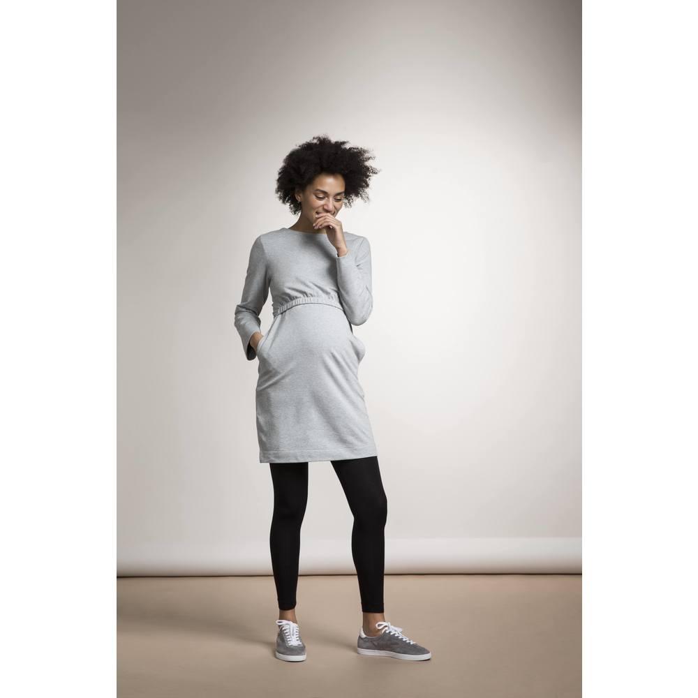 Boob Niki Dress  Grey Melange