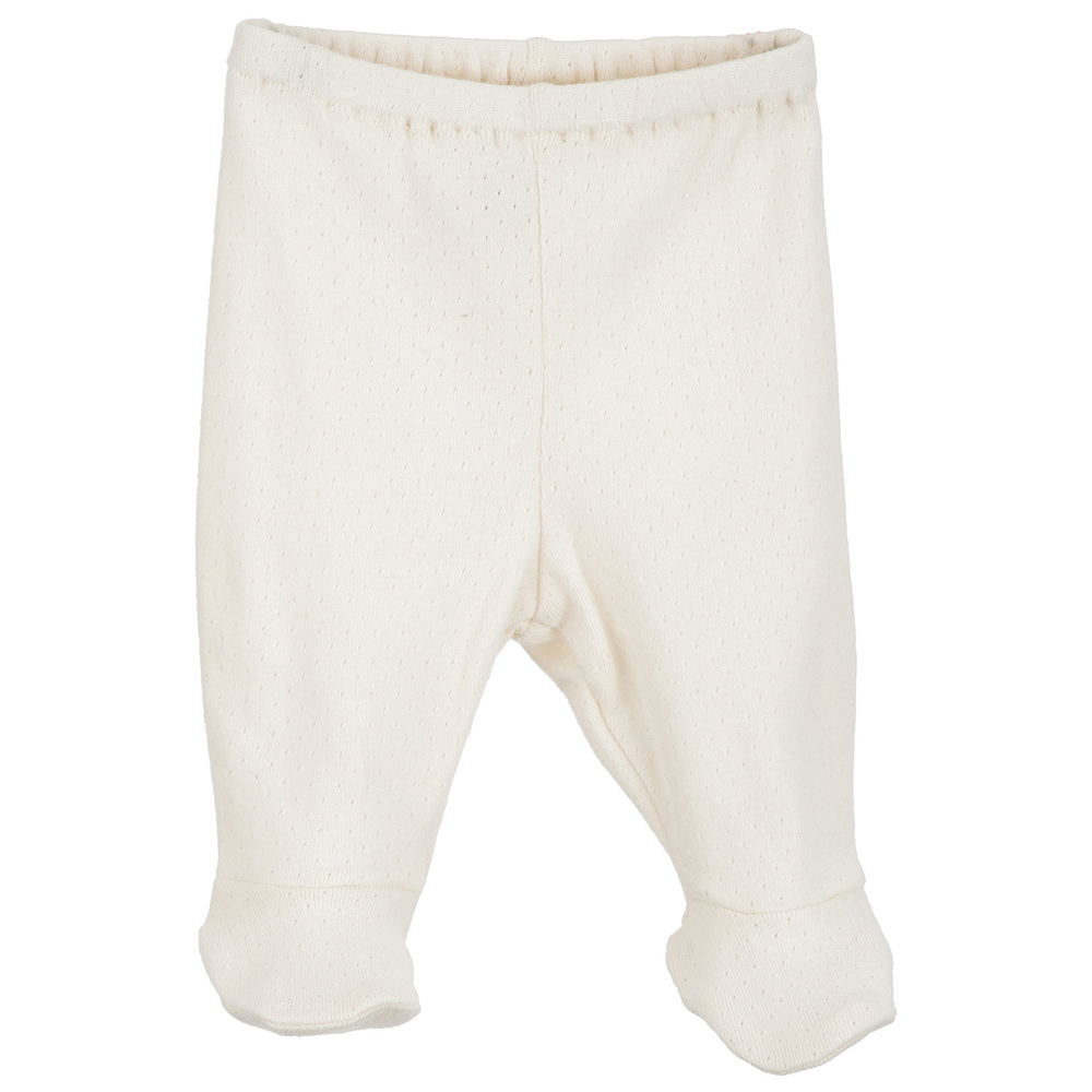 Serendipity Newborn Pants w / feet  Pointelle