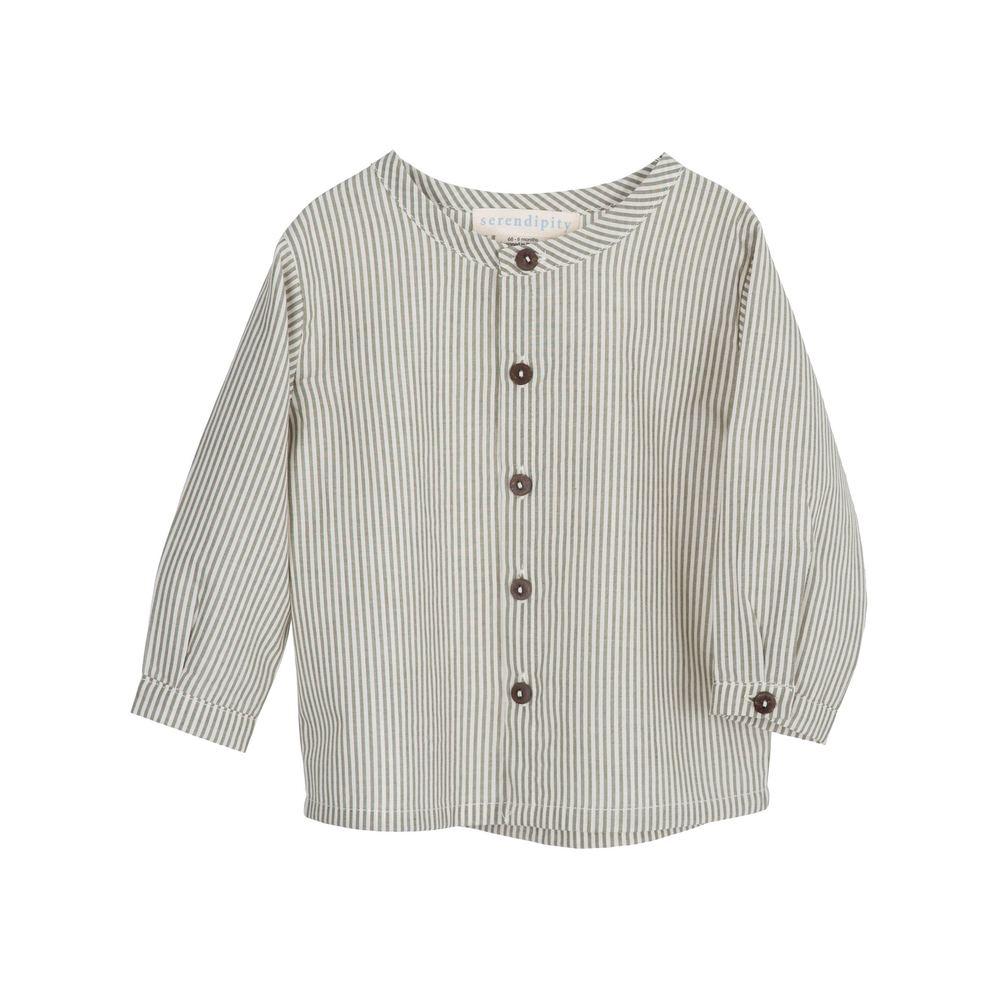 Serendipity Baby Skjorte Striper
