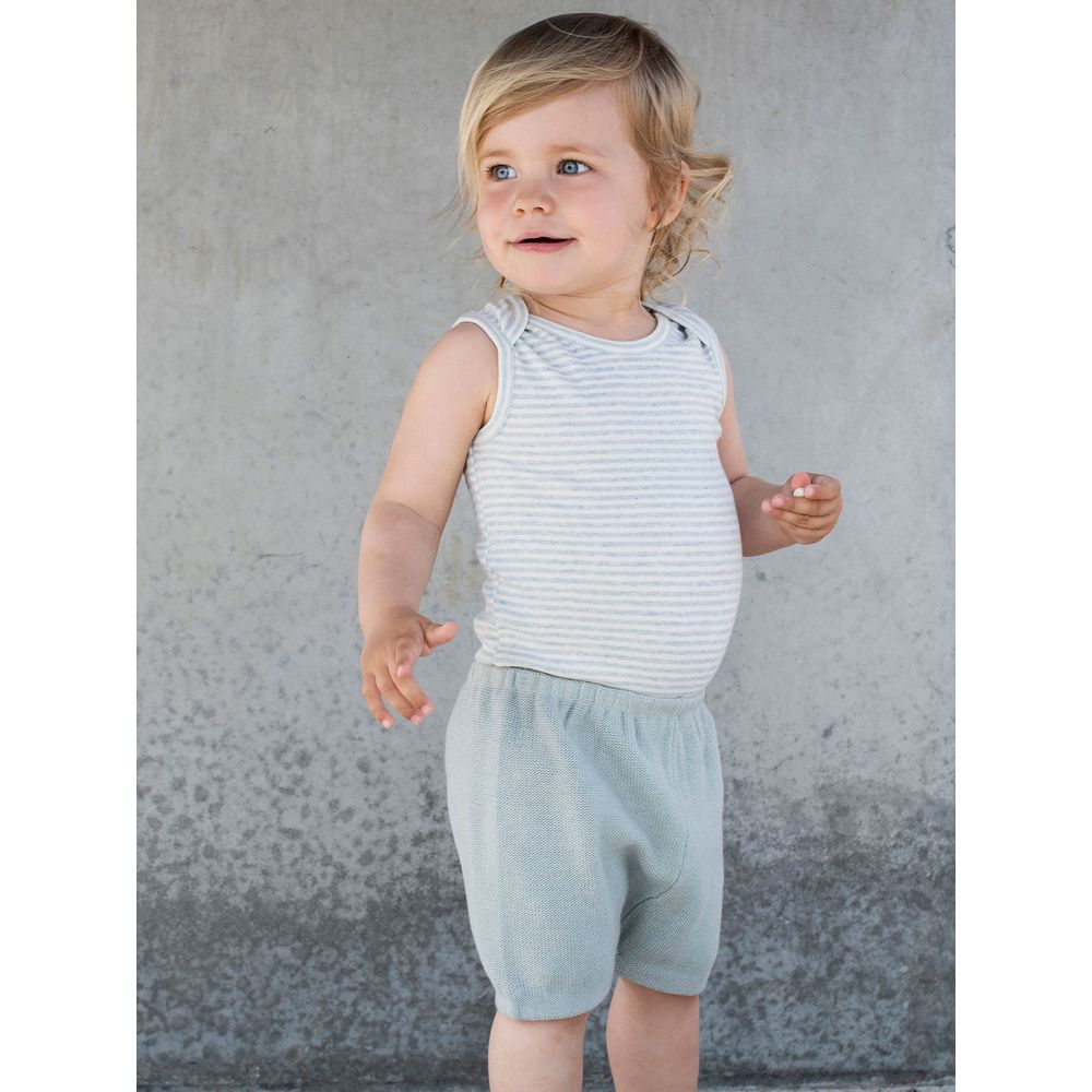 Serendipity Baby Knit Bloomers Cloud