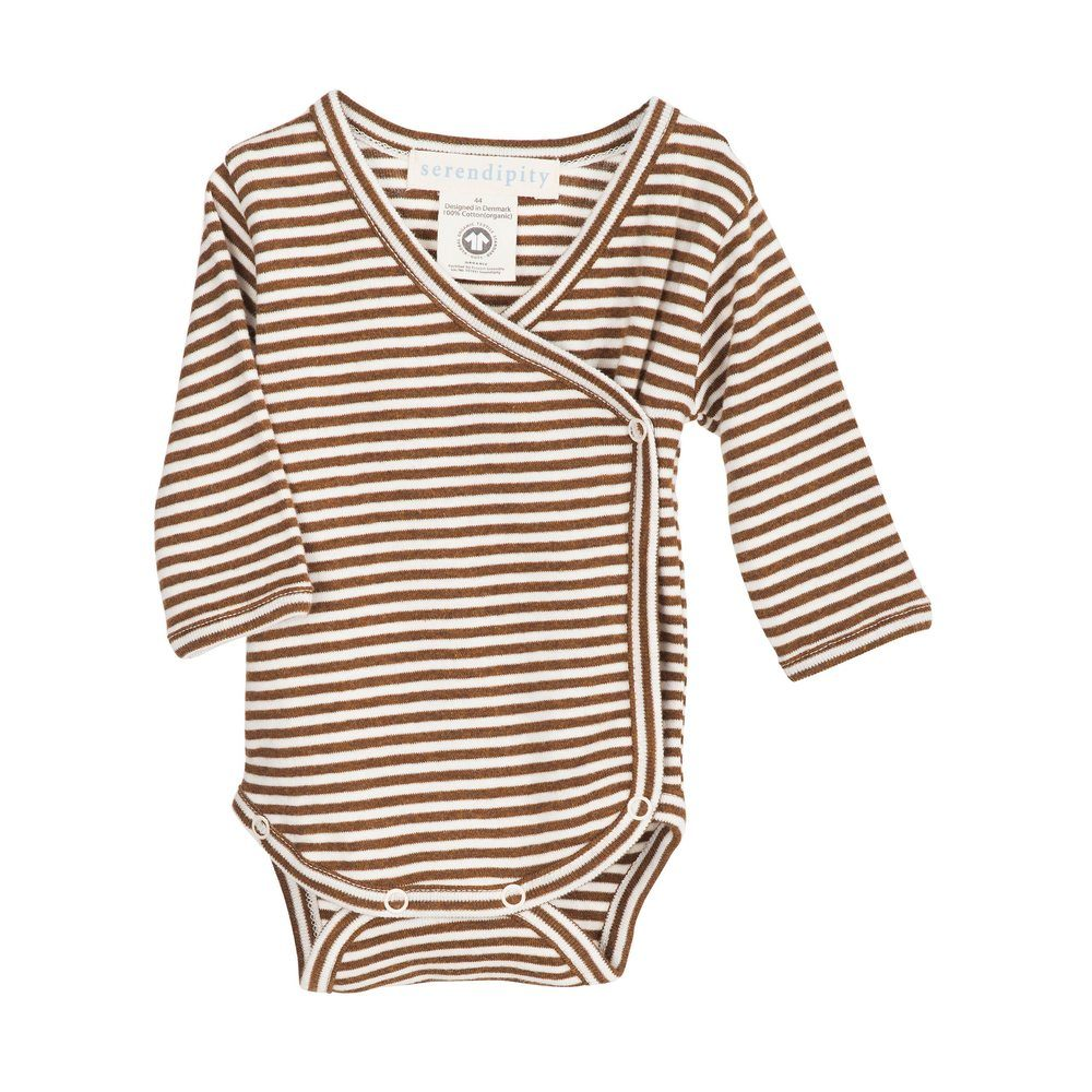 Serendipity Newborn Wrap Body Caramel / Offwhite