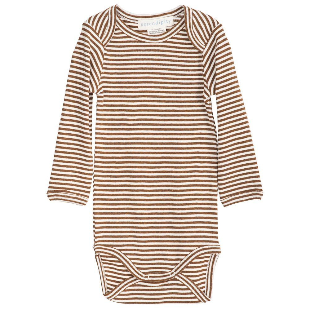 Serendipity Body Stripe Caramel / Offwhite