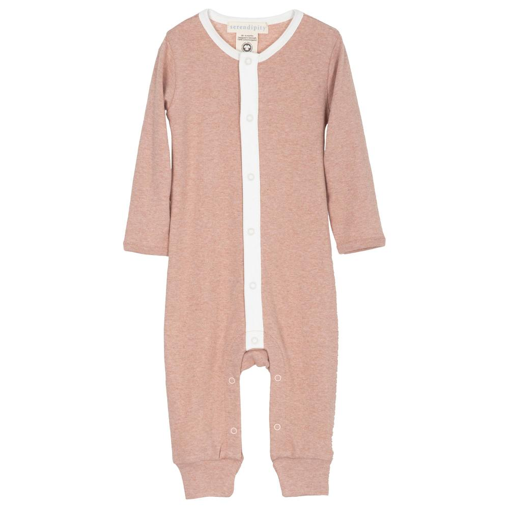 Serendipity Baby Suit Clay