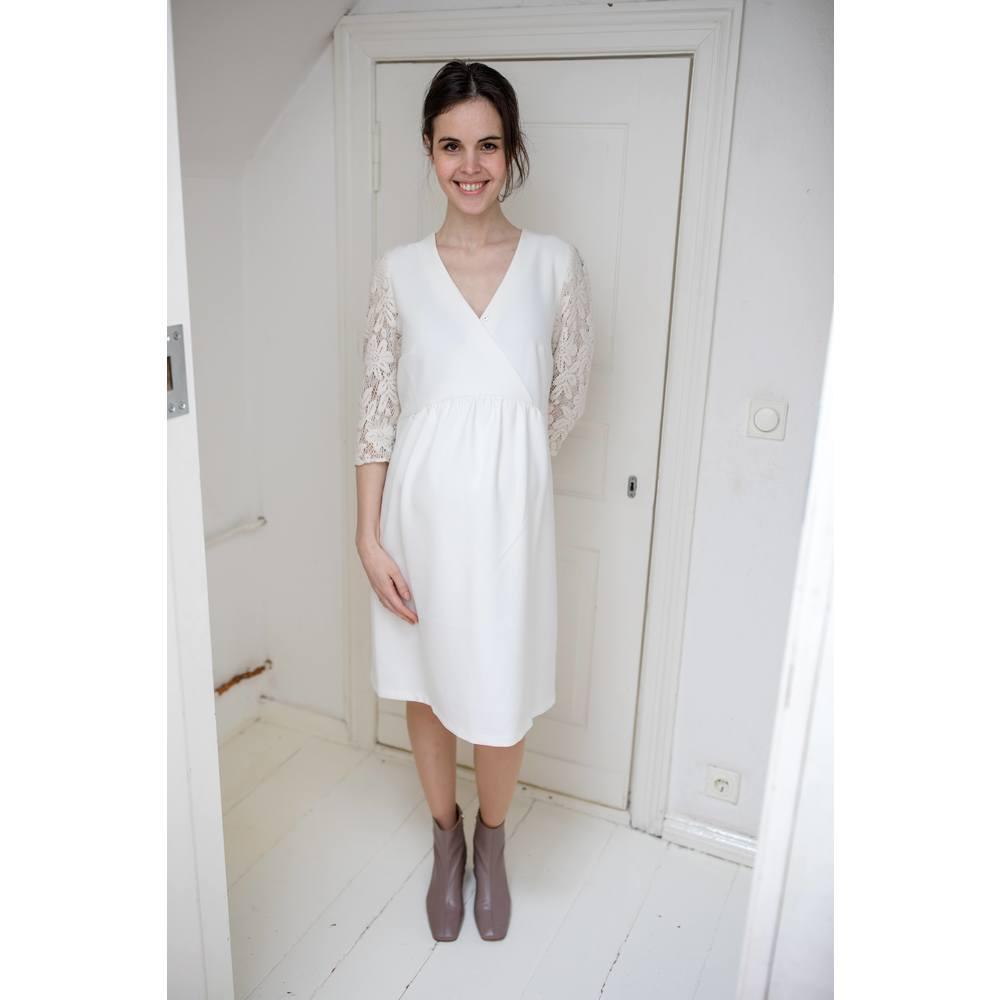 Paula Janz Dress White Dove
