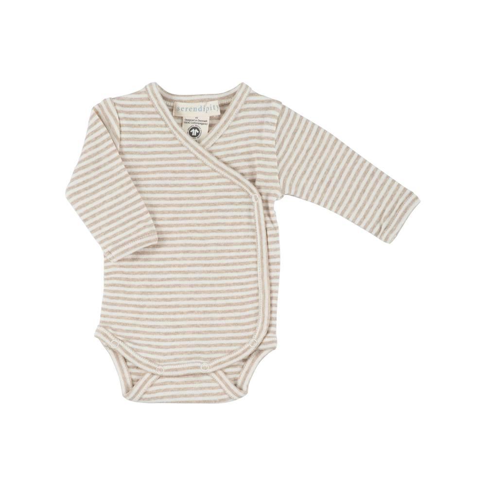 Serendipity Newborn Wrap Body Oat / Offwhite