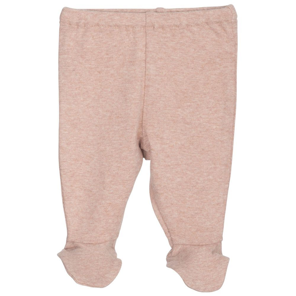 Serendipity Newborn Pants w/feets Clay